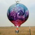 Wave Balloon–Steel/Hyacinth/Heliotrope