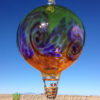 Stripe Balloon w/Wave–lime/hyacinth/saffron