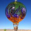 Stripe Balloon w/Wave–lime/hyacinth/saffron