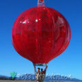 Ribbed Balloon – Xmas Red SolidRed