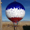 Striped Balloon–Cobalt/White/XmasRed
