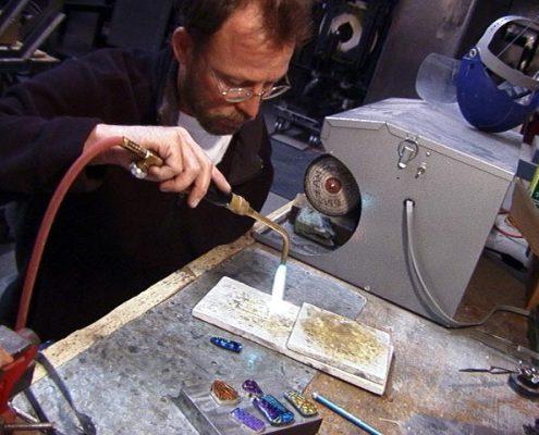 Making Dichroic Jewelry