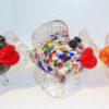 Kissing Fish–Confetti Clear, Confetti White and Fire Mix