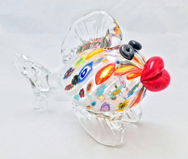Kissing Fish – Murrine Flowers & Cane