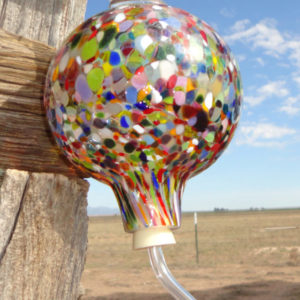 Hummingbird Feeder - Confetti Clear