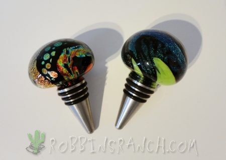 Dichroic Bottle Stoppers