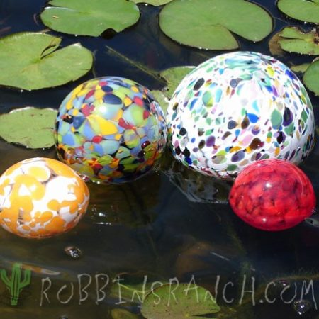 Pond floats
