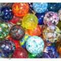 Assorted hand-blown glass Christmas ornaments