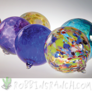 Handblown Glass Christmas balls