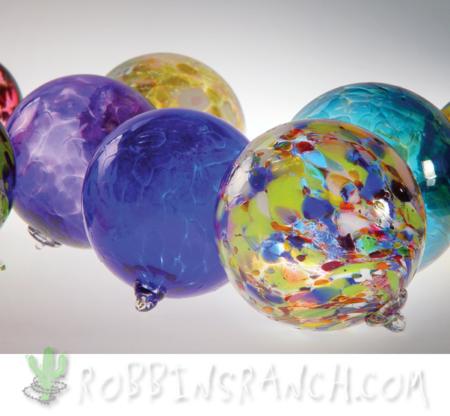 Handblown Glass Christmas balls