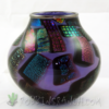 Southwestern Pot- Dichroic on Opal Violet