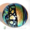 Green & gold dichroic strips
