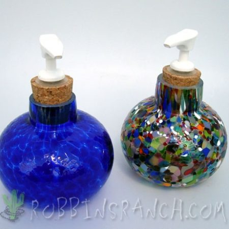 Dispensers – Cobalt Solid, Confetti Clear