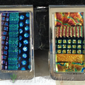 Dichroic money clips