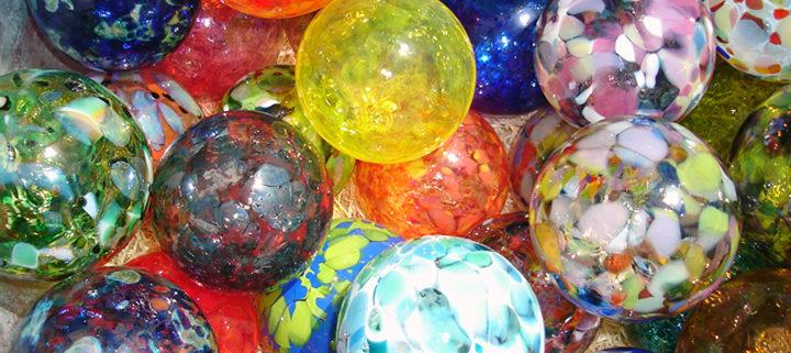 Hand Blown Glass Balls